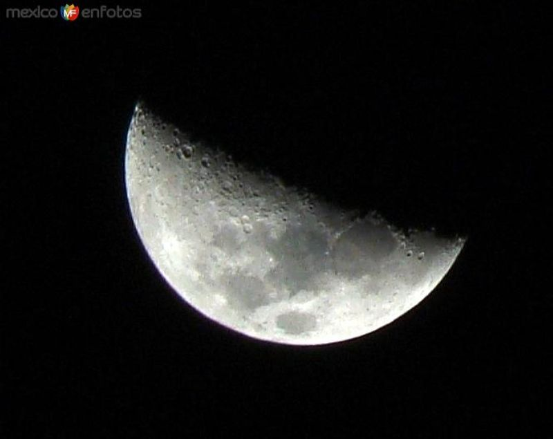 Luna creciendo