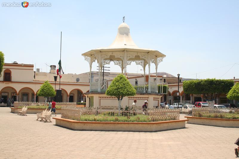 Plaza de Armas de Ixtlán