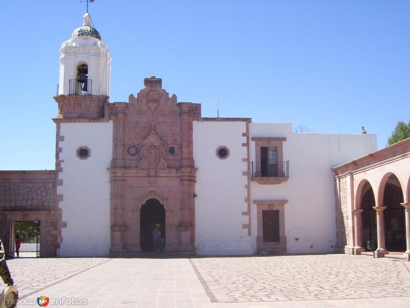 iglesia en el cerro de la bufa