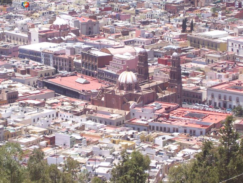 catedral de zacatecas vista desde el cerro de la bufa