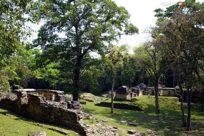 Zona arqueologica de Yaxchilan