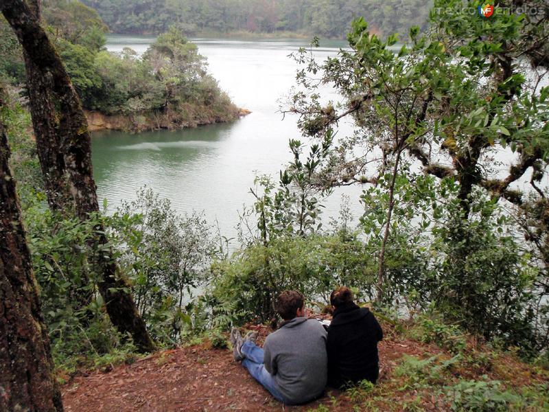 lagos de montebello, una romántica vista