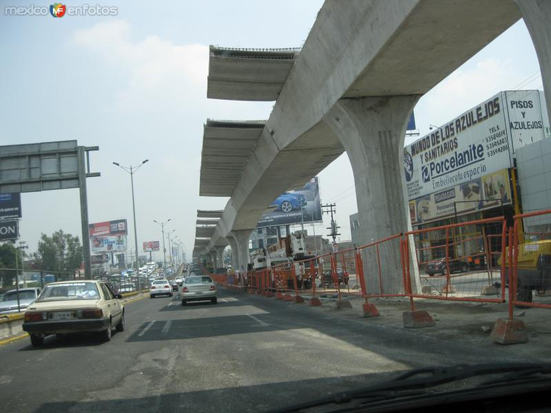Construccion segundo piso en Naucalpan