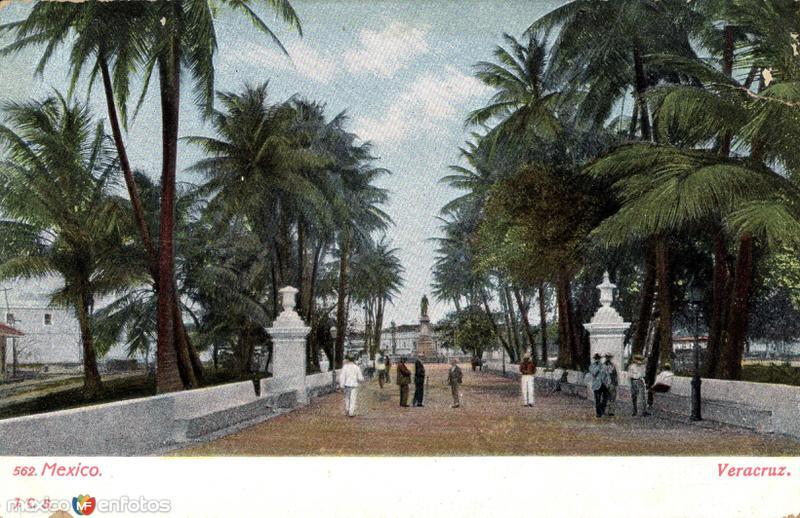 Una plaza de Veracruz