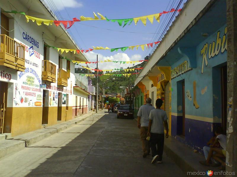 Calle hacia el centro