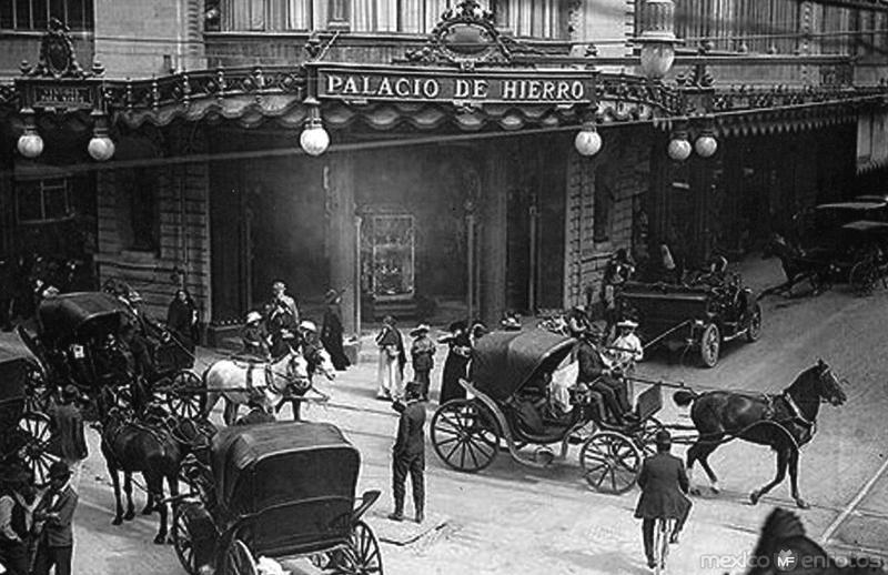 palacio de hierro en 1912
