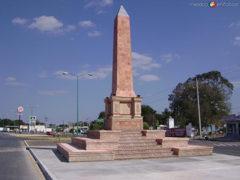 obelisco de Escarcega