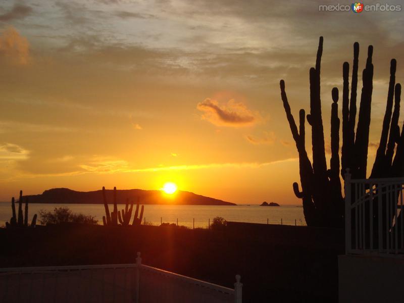 Atardecer en San Carlos Nuevo Guaymas