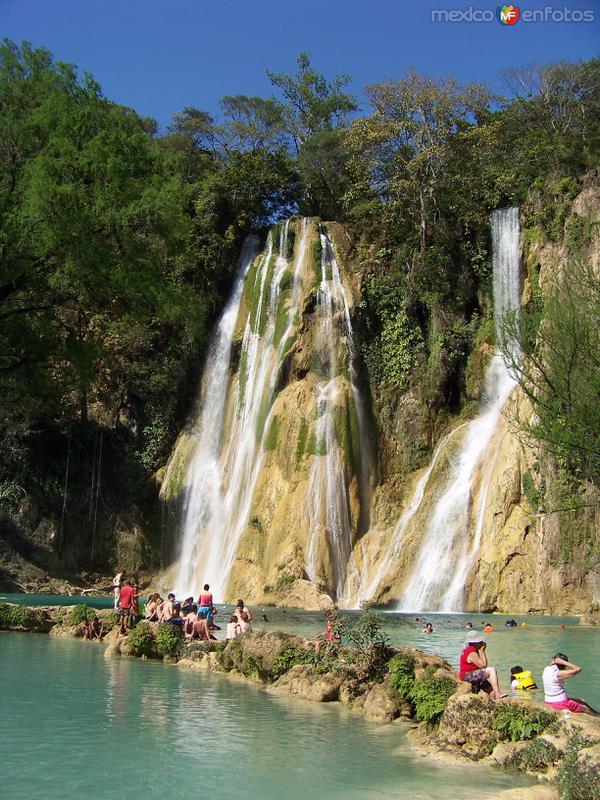 Cascada de Minas Viejas