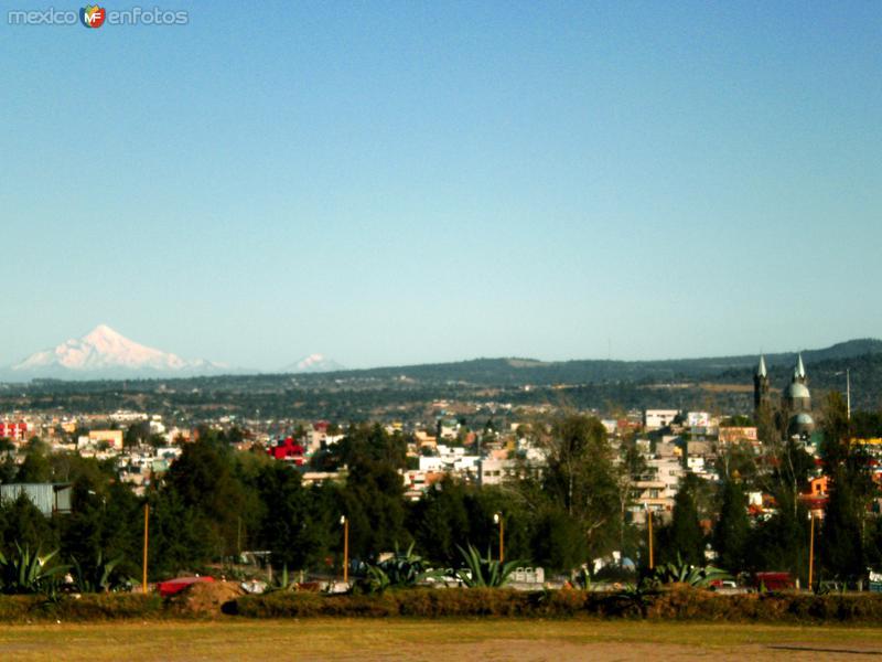 El Pico de Orizaba desde Apizaco