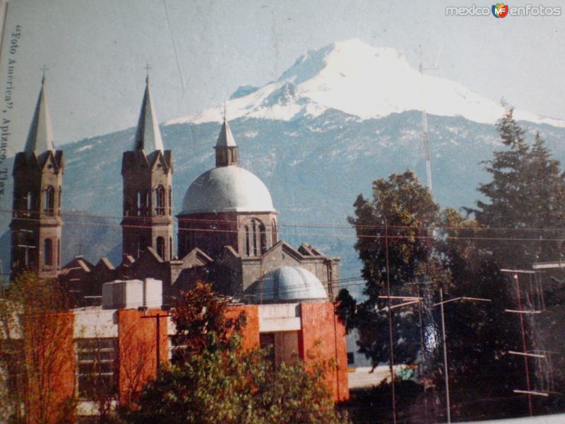 Apizaco a los pies del Volcan La Malinche