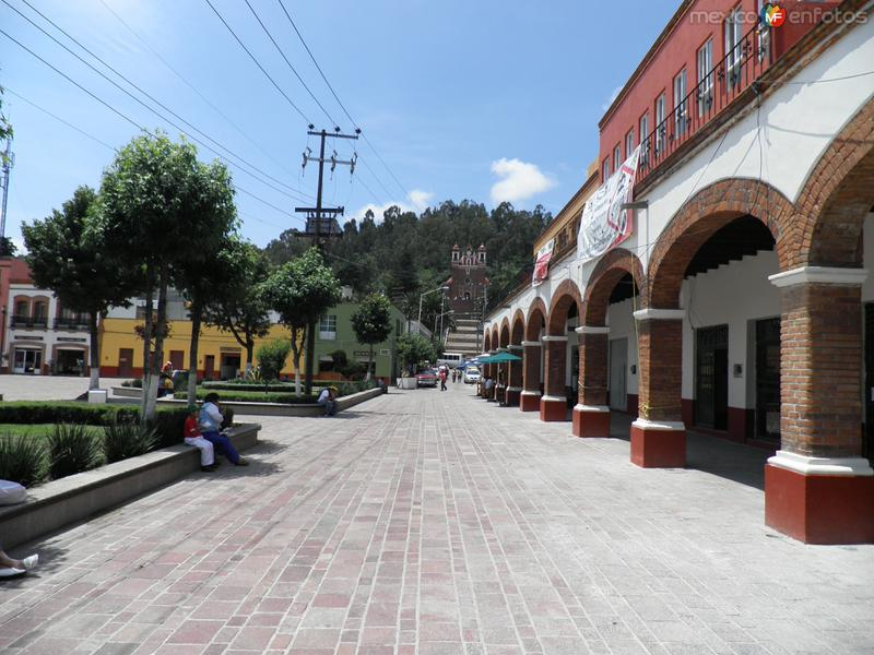 Iglesia del calvario en Metepec