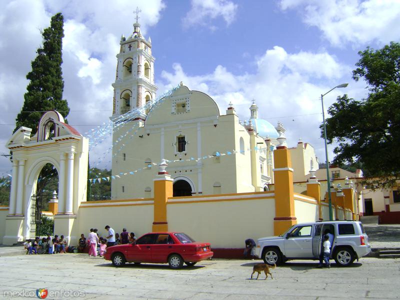 Templo del calvario. Tochimilco.