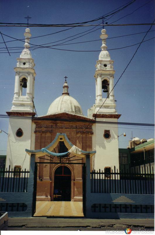 Portada de cantera en templo de San Francisco del Rincón, Guanajuato