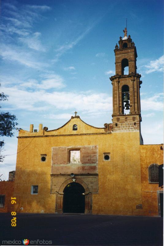 Parroquia principal. Tecozautla, Hidalgo