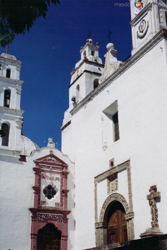 Ex-Convento de San Francisco del siglo XVI. Tepeapulco, Hidalgo