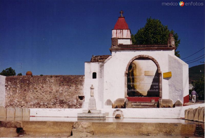 Caja de agua del siglo XVI. Tepeapulco, Hidalgo