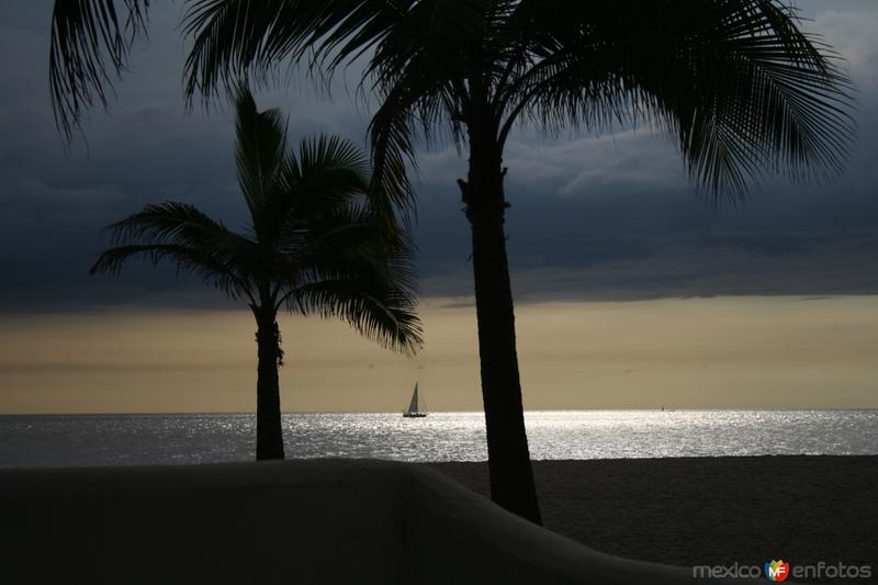 A orillas de la playa
