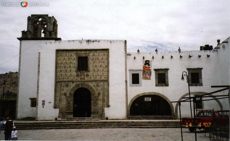 Templo del Hospital, siglo XVI. Acámbaro, Guanajuato