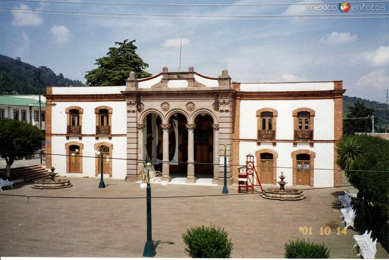 El Teatro Juárez de principios del siglo XX. El Oro de Hidalgo, Edo. de México