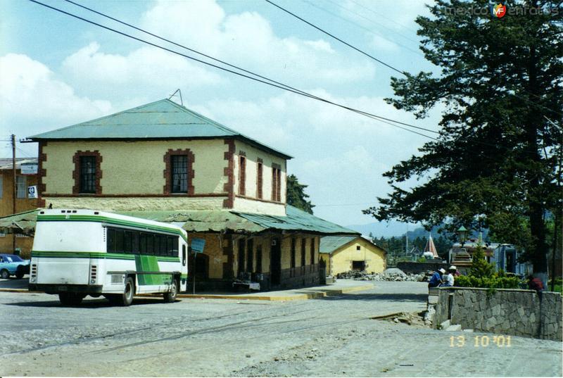Antigüa estación de ferrocarril. El Oro de Hidalgo, Edo. de México