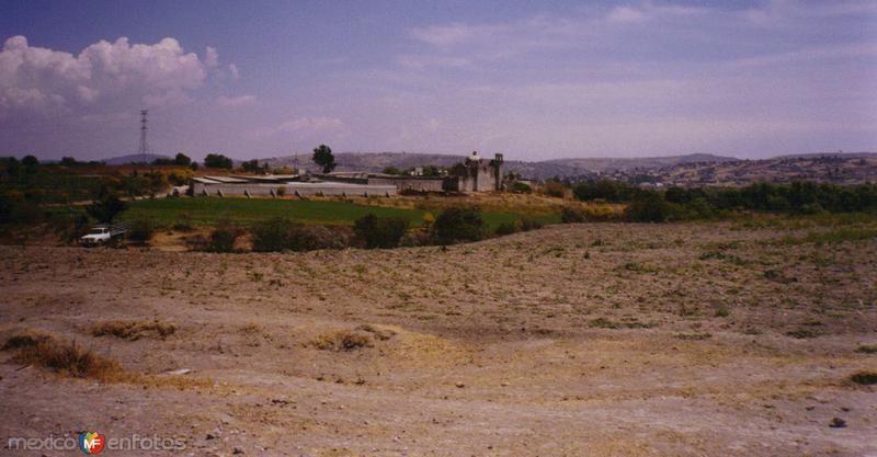 Ex-hacienda en los alrededores de San Francisco Totimehuacán, Puebla