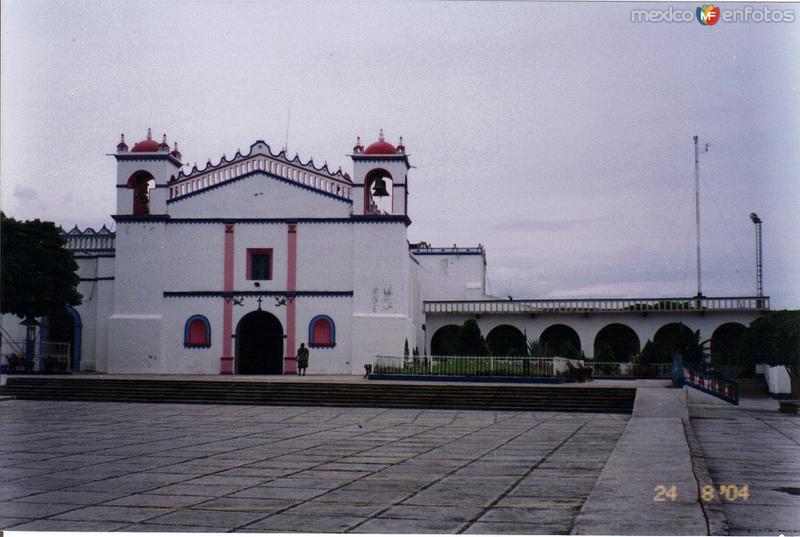 Templo de San Francisco, siglo XVIII. Tonalá, Chiapas