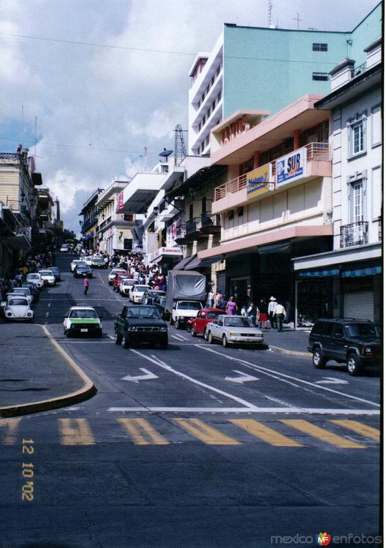 Av. Revolución en el centro de Xalapa, Veracruz