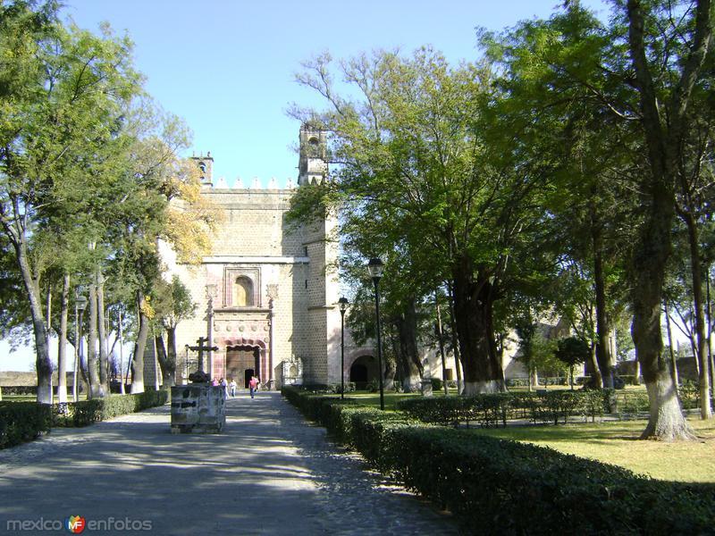 Ex-convento franciscano de San Miguel. Huejotzingo, Puebla