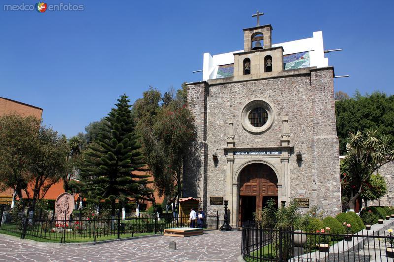 Basílica de Guadalupe, templo de Indios