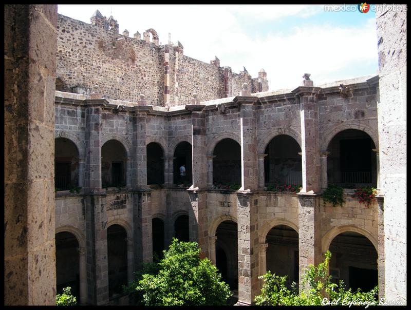 Interior ex-convento de yuriria
