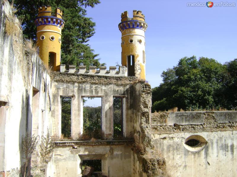 Ruinas del casco de la Ex-hacienda de Chautla, Puebla. 2011