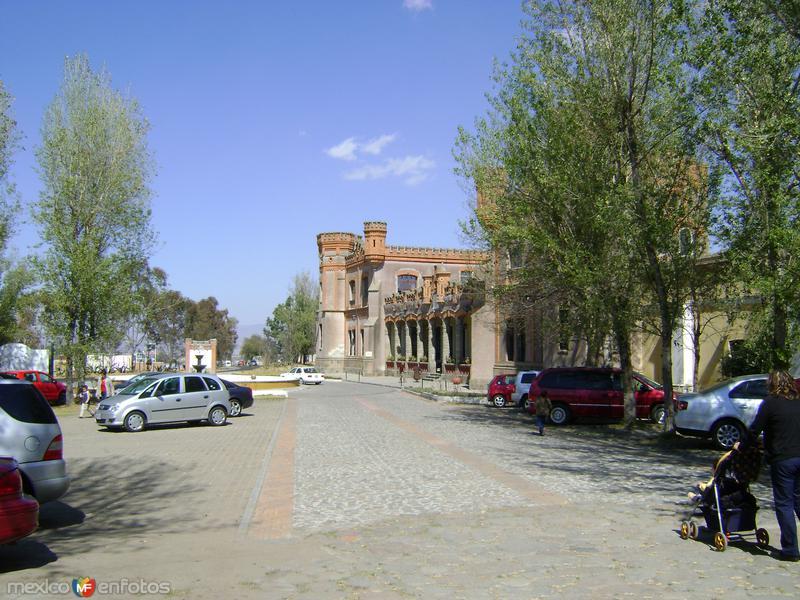 Ex-hacienda San Francisco Soltepec desde los macheros. Edo. de Tlaxcala. 2011