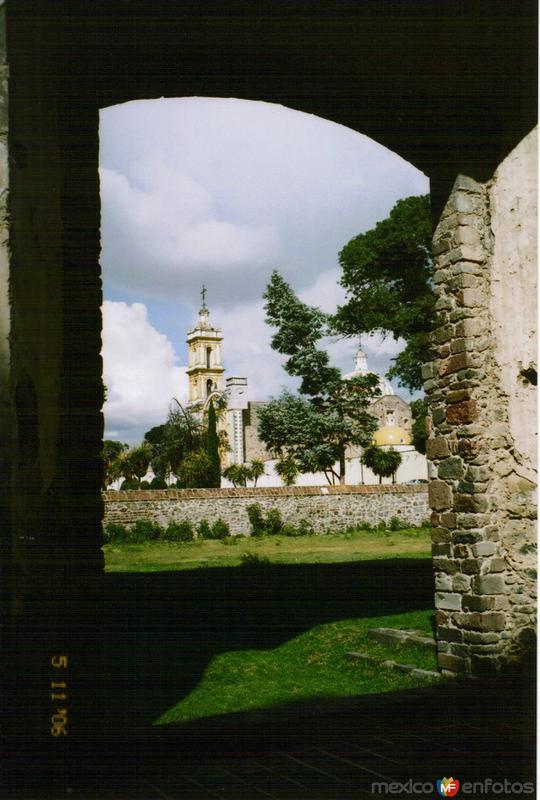 Templo de Santa María. Atlihuetzía, Tlaxcala. 2006