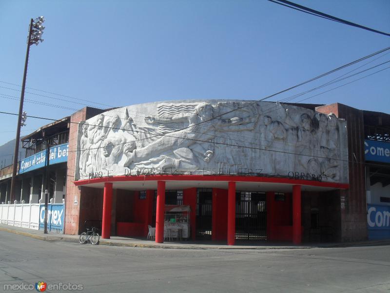 El estadio Esfuerzo Obrero