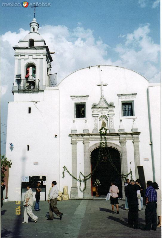 Parroquia de Nativitas, Delegación Xochimilco, DF. 2003
