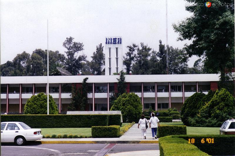 Instituto Nacional de Enfermedades Respiratorias (INER). Del. Tlalpan, DF. 2001