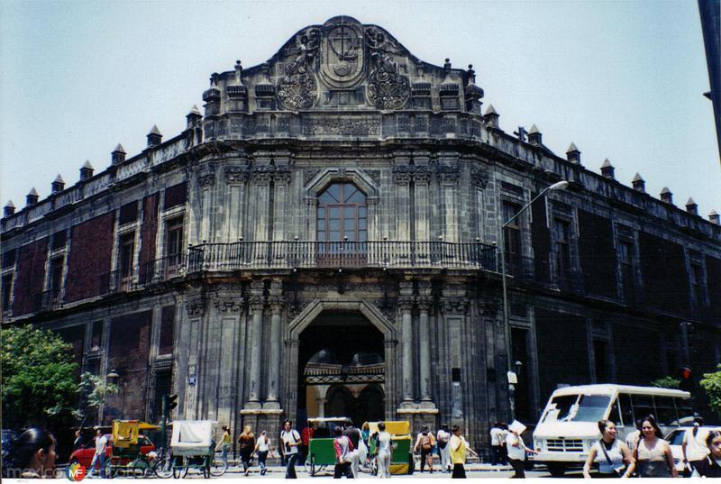 Palacio de la Inquisición (Hoy Museo de la Medicina). DF. 1994