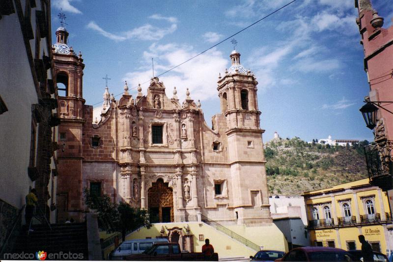 Templo jesuita de Santo Domingo (1746). Zacatecas. 2002