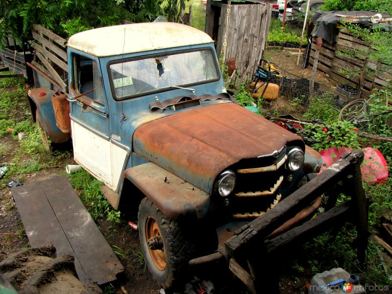 Vehículo antiguo