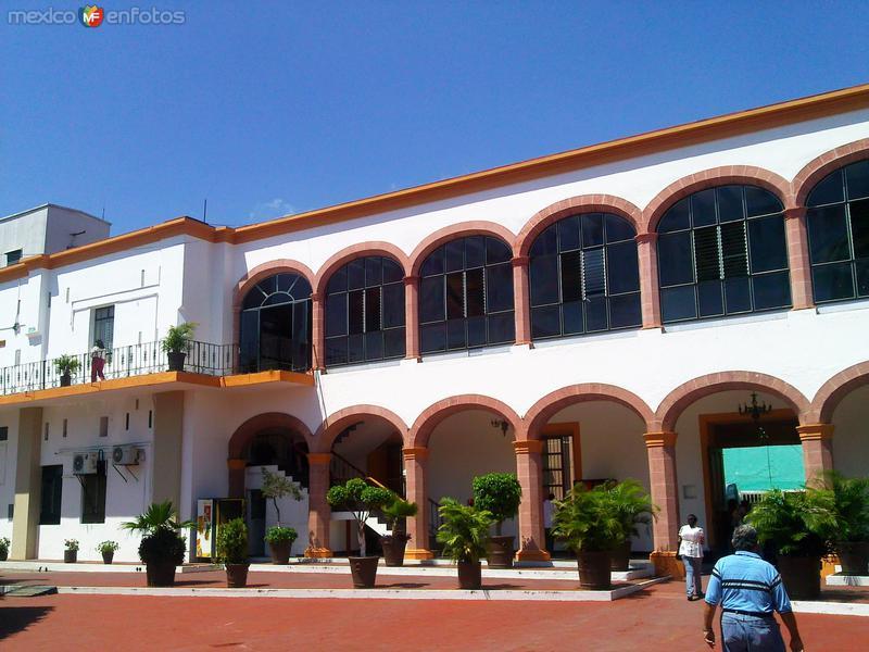 Interiores de palacio de gobierno