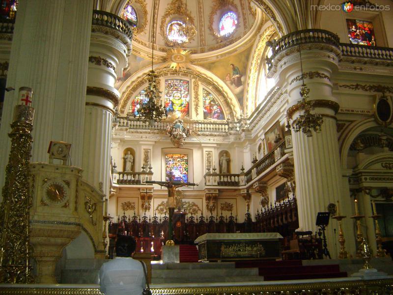 Altar de la Catedral de Guadalajara. Noviembre/2011
