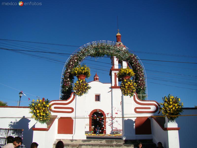 PARROQUIA DE SAN LUCAS TECOPILCO. OTOÑO DEL 2011