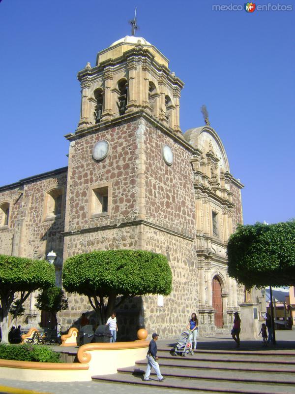 Fachada del Templo de la Purísima. Tequila, Jal. Noviembre/2011
