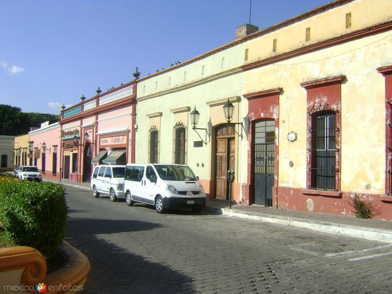 Museo y fachadas coloniales del centro de Tequila. Noviembre/2011