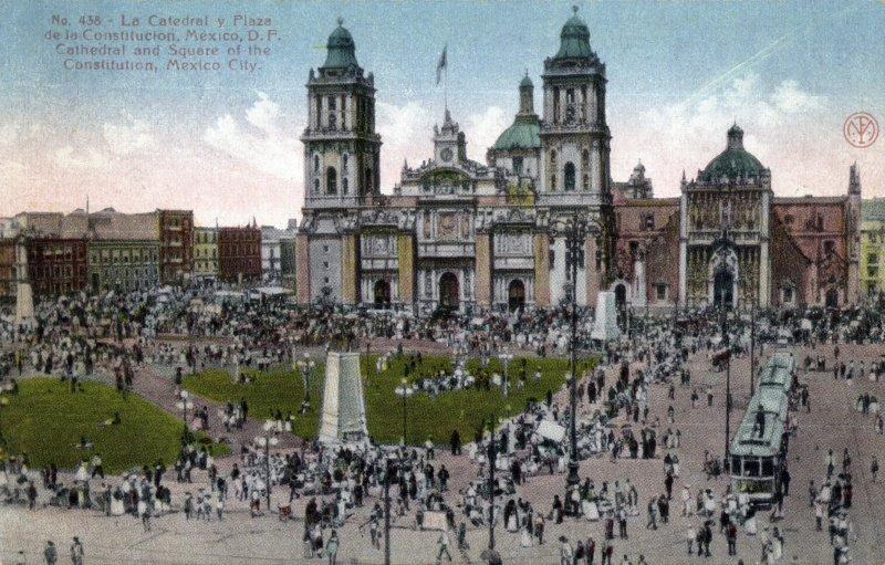 Catedral y Plaza de la Constitución