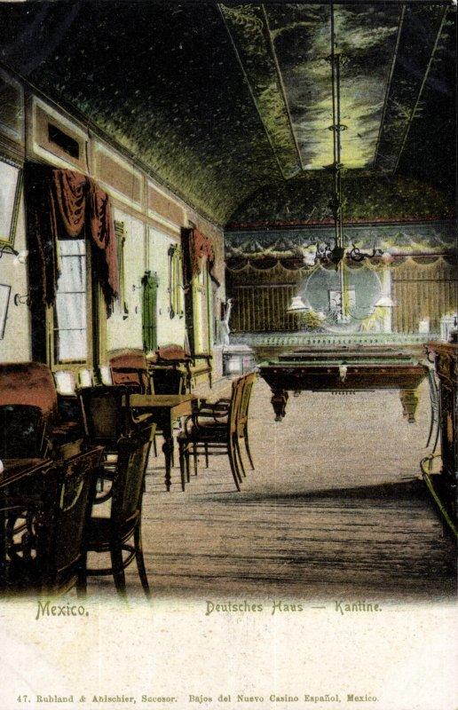 Barra del club alemán