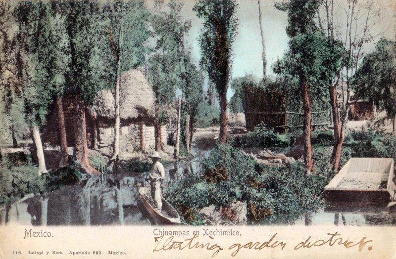Chinampas en Xochimilco