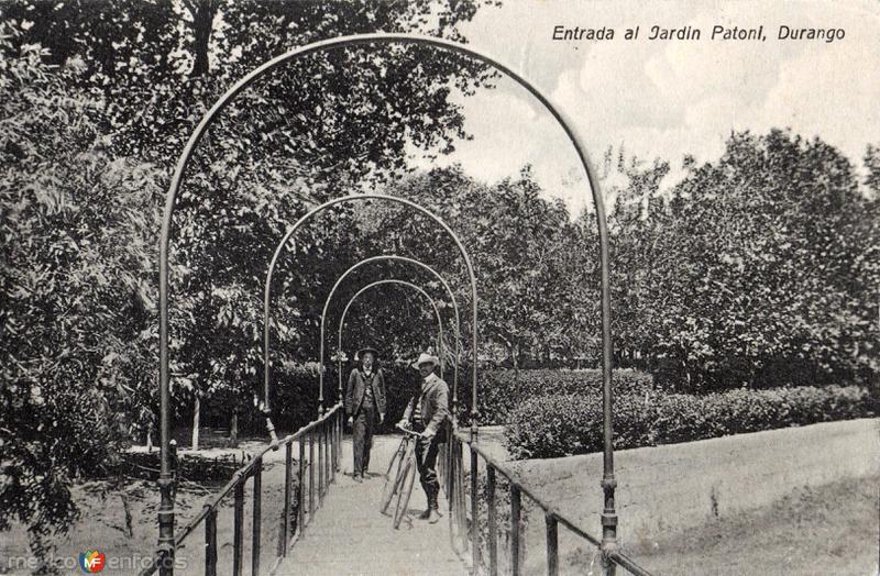 Entrada al Jardín Patoni