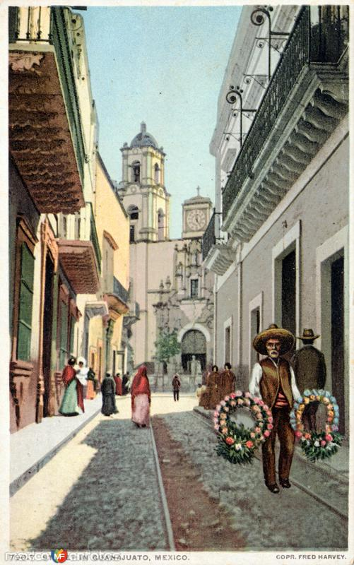 Una calle de Guanajuato